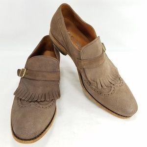 Blackstone Brogue Loafers Kiltie Mens Suede Shoes